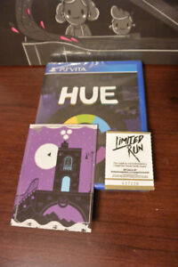 Limited Run Games PS Vita HUE Game & Vinyl Record
