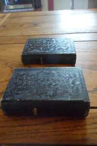 Antique 1834 bible in leather case