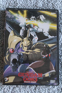 Mobile Suit Gundam 0083 DVD Episodes 5, 6, & 7