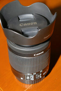 CANON Lens: EF-S 18-55mm f/3.5-5.6 IS STM Saint-Hyacinthe Québec image 2