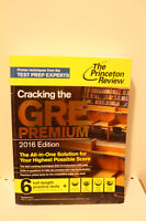 Cracking the GRE Premium 2016 Edition