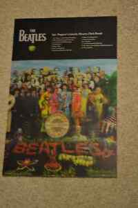 Sergeant Peppers, The Beatles 3D poster