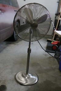 Metal fan - adjustable height