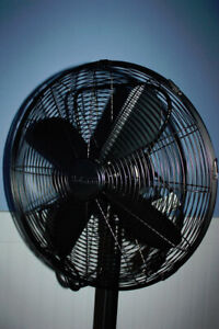 HOLMES HSF1606, 16-inch Metal Stand Fan $25, Brushed Antique Nic