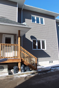 Newly completed two bedroom Town home located in Hillsburgh