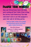 Pamper Your Princess Birthday Party