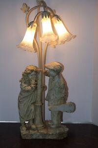 Shy Little Girl & Flirting Little Boy Crosa Collection Lamp Kingston Kingston Area image 4