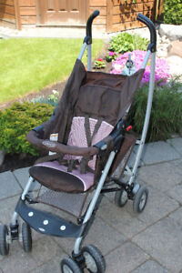 GRACO STROLLER - NO CANOPY, HIGH CHAIR