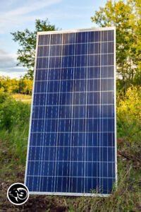 Solar panels shipped from Saskatoon, order online today.