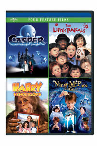 Casper / The Little Rascals / Harry and the Hendersons / Nanny M