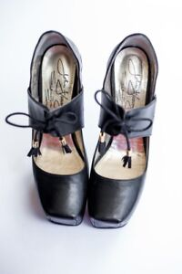 Fluevog Shoes :: Black Berlin Mitte - size 8 Never Worn