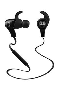 Monster iSport Wireless Bluetooth In-Ear Headphones, Black