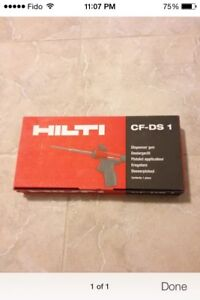 Cf-ds 1 Hilti new spray foam gun dispenser