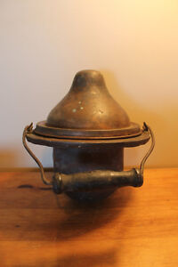Old Copper Hinged Lid Insert For Antique Stove London Ontario image 3