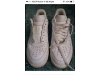 Nike trainers ( size 7.5 two pairs )