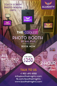 Photo booth Rental in Halifax  - $250