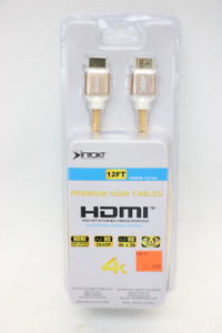 **24K GOLD PLATED** Intakt 12ft Premium HDMI Cable (#1570)