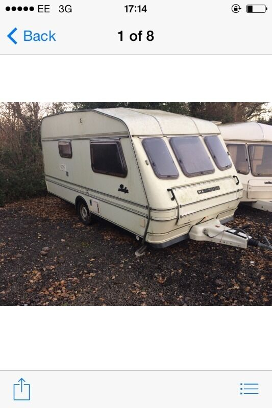 Compass rally 1993 2 berth in very good condition
