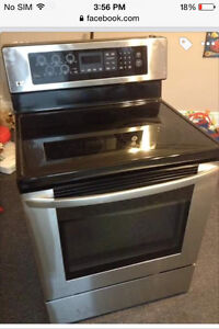 New lg stove