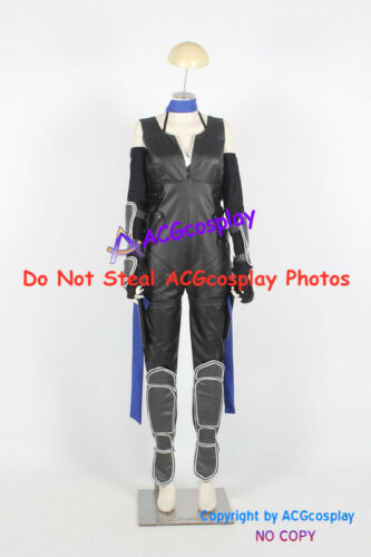 Dead or Alive 5 Kasumi Cosplay Costume faux leather made