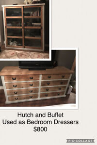 Hutch and Buffet / Bedroom
