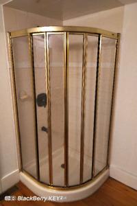 Shower Door and Base