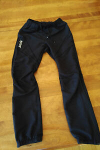 Swix soft shell youth xc ski pants, size 10-12