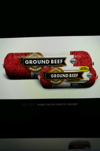 Lean Ground Beef $4.00/lb