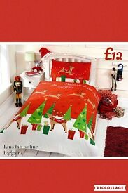 Christmas duvet set,single