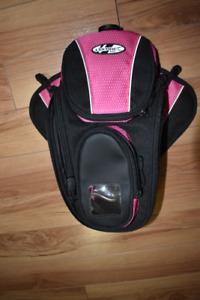 Joe Rocket Pink and Black Motorcyle Side Bag