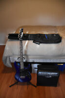 Ibanez Gio Electric Guitar and Line 6 Spider 2 Amp