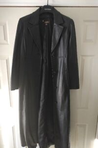 Danier full length trench coat  size M
