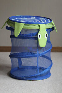 collapsible toy or laundry hamper