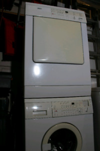 Bosch apartment size washer and dryer pair