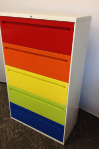 Multi Use Filing & Storage Cabinets – Variety of Sizes & Colours