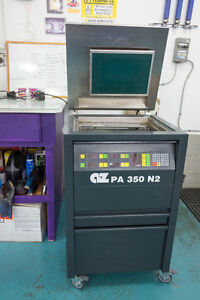 A4 platemaking unit and film printer for letterpress printing