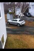04 Mazda rx8 for trade