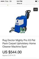 **Carpet cleaner** Rug doctor x3 pro