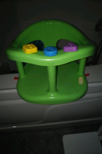 Baby bath seat with suction cups on bottom !!