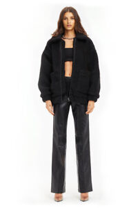 BRAND NEW WITH TAGS  I.AM.GIA BLACK PIXIE COAT