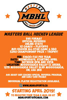 Men's Ball Hockey Team Looking for 2 Players (F or D)