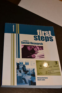 First Steps - A Guide to Social Research (Second Edition)