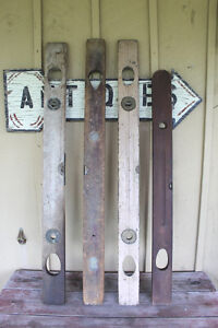 Antique Wooden Carpenter's Levels London Ontario image 1