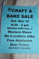 CRAFT & BAKE SALE