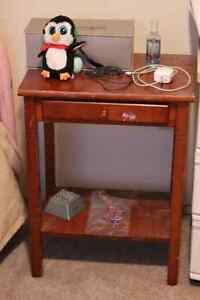 Bed-side Table_Moving out-of-the-country. Everything must go!
