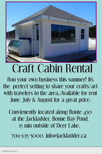 ATTN: ARTISTS - Craft Cabin rental for summer