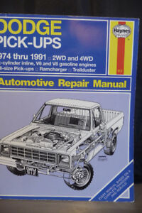 Haynes Automotive Repair Manuals