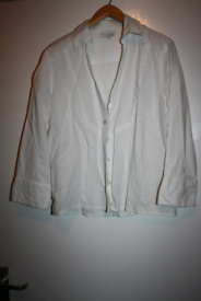 Womens size 12 next white shirt
