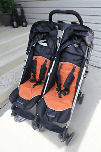 Twin Side by Side Stroller Strathcona County Edmonton Area image 2