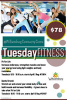 Adult Daytime Fitness Classes - great price!